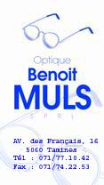 Optique Muls' business card